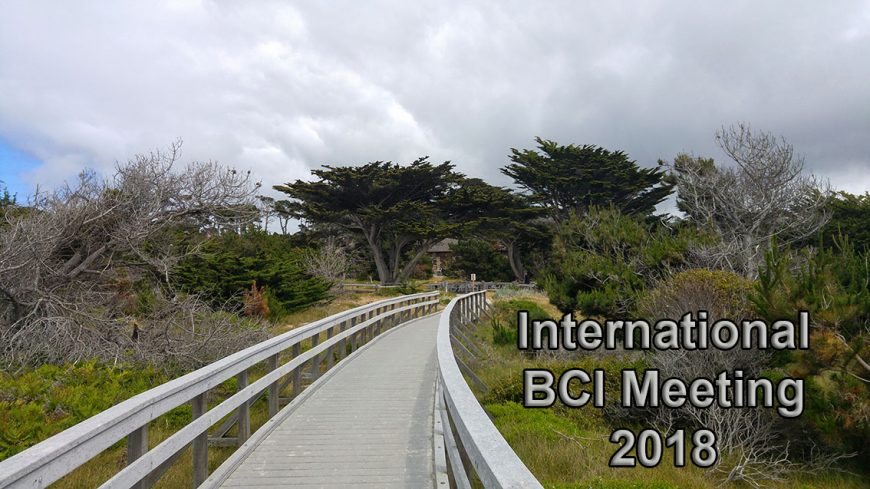 Beach-side entrance of Asilomar Conference Grounds (BCI Meeting 2018)