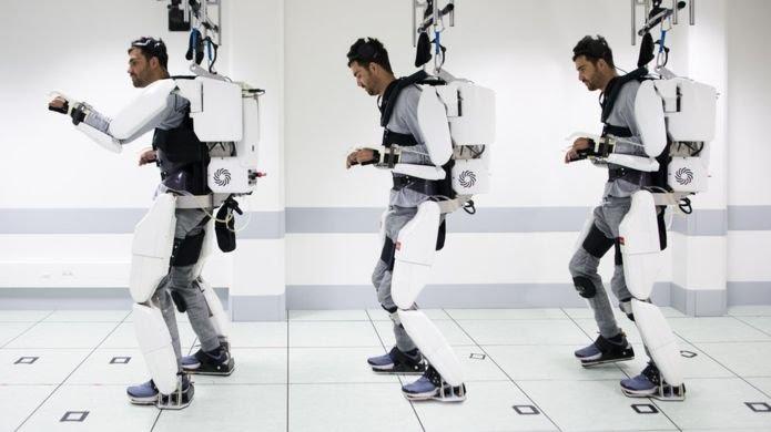 Clinatec_Exoskeleton